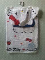 Badeponcho, Handtuch mit Kapuze, Strand Poncho, Kinder, Hello Kitty