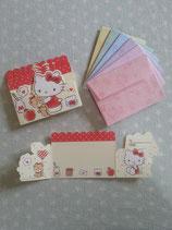 Einladungskarten, Glückwunschkarten, Klappkarten, Karten Set, Hello Kitty