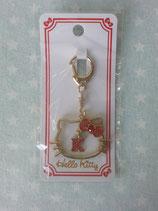 Schlüsselanhänger, Handtaschen Charm, Hello Kitty, gold