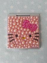 Taschenspiegel, Schminkspiegel, Handspiegel, Hello Kitty, bling