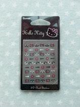 Nagelsticker, Nail Sticker, Aufkleber für Fingernägel, Hello Kitty, pink