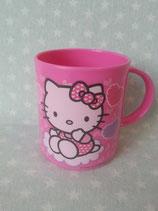 Tassen, Plastik Tasse, Becher, Hello Kitty, heart