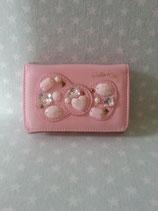 Karten Etui, Kleingeld Tasche, Geldbörse, Hello Kitty, bling