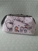 Kosmetiktasche, Beuty Bag, Kulturbeutel, kleine Tasche, Clutch, Hello Kitty, chum little
