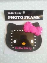 Bilderrahmen, Fotorahmen, Magnetrahmen, magnetischer Bilderrahmen, Hello Kitty, pink