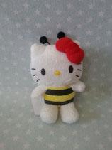 Kuscheltier, Stofftier, Plüschfigur, Hello Kitty, XS bee