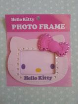 Bilderrahmen, Fotorahmen, Magnetrahmen, magnetischer Bilderrahmen, Hello Kitty, rosa