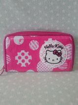 Brieftasche, Portemonnaie, Geldbörse, Geldbeutel, Damen, Hello Kitty, dot heart