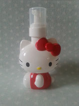 Seifenspender, Pumpspender, Hello Kitty, rot