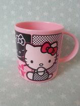 Tassen, Plastik Tasse, Becher, Hello Kitty, comic