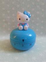 Eieruhr, Küchenuhr, Kerzzeitwecker, Timer, Kitchentimer, Hello Kitty, blau