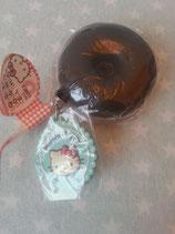 Squishy Anhänger, Schlüsselanhänger, Handtaschen Charm, Hello Kitty, doughnut 5