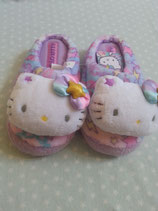 Hausschuhe, Pantoffel, Slipper, Hello Kitty, star M