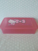 Brotdose, Lunchbox, Vorratsbehälter, Snack Box, Hello Kitty, apple