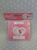 Tischkarten, Namenskärtchen 12 Stück, Hello Kitty