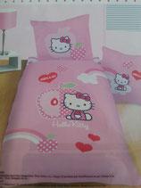 Bettwäsche, Hello Kitty, apple
