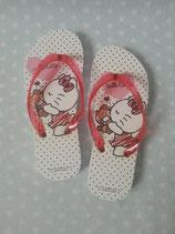 Kinder Flip Flops, Hello Kitty, S kiss