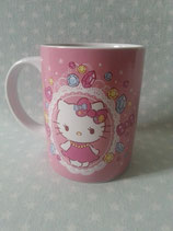 Kaffepot, Kaffebecher, Tassen, Keramik Tasse, Hello Kitty, diamond