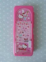 Stiftdose mit Murmelspiel, Stiftbox, Stifte Etui, Hello Kitty, candy