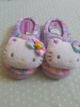 Hausschuhe, Pantoffel, Slipper, Hello Kitty, star