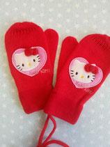 % Hello Kitty, Kinder Handschuhe, Kinder Fäustlinge, rot