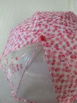 Stabregenschirm, Regenschirm Kinder, Hello Kitty, S cherry