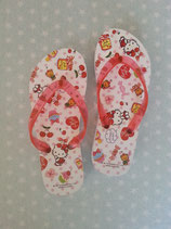 Kinder Flip Flops, Hello Kitty, XS cherry