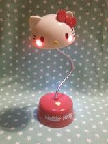 Schreibtischlampe, Nachttischlampe, Tischleuchte, Tisch Lampe LED, USB, Helligkeitsstufen, Hello Kitty