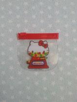 Zipper Bag, Hello Kitty, gum klein