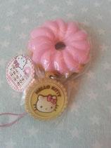 Squishy Anhänger, Schlüsselanhänger, Handtaschen Charm, Hello Kitty, doughnut 1