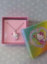 Halskette mit Anhänger, Modeschmuck, Damen Halsketten, Hello Kitty, fairy