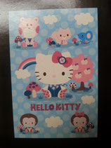 Poster, Wand Deko, Wandbild, Bild, Hello Kitty, play