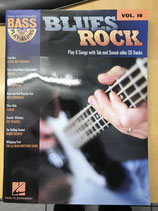 Notenbuch für Bass mit Playalongs auf CD - Blues Rock