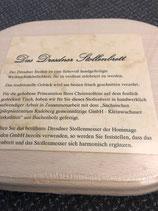 Kleines Dresdner Stollenbrett für Stollen bis 500 g