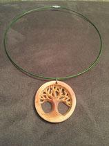 Edelhölzerl Lebensbaum aus Zirbenholz