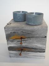 --SALINA-- Teelichthalter aus Treibholz