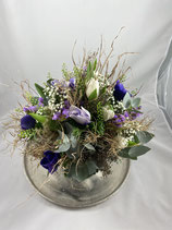 Frühlingsgruß lila/weiß