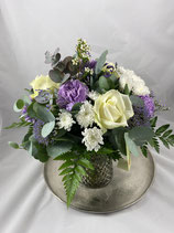 Blumenstrauß lila/weiß