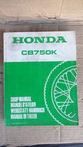 Werkstatthandbuch CB 750 K