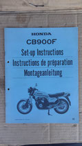 Honda CB 900 F Montageanleitung