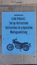 Honda CB 750 C Montageanleitung 1981