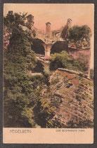 691   (W-6900)   Heidelberg   -Der gesprengt Turm-   (PK-00044)
