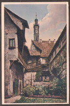 91541   (W-8808)   Rothenburg o.T.   -Alter Hof in der Apotheke-   (PK-00093)