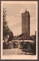 91541   (W-8808)    Rothenburg o.T.   -Burgtor-    (PK-00187)