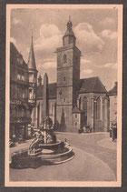 990..   (O-5010)   Erfurt   -Blick zum Monumentalbrunnen-   (PK-00192)