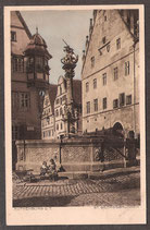 91541   (W-8808)   Rothenburg o.T.  - St. Georgs- Brunnen-   (PK-00183)