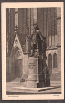 04...   (O-7010; O-7030)   Leipzig   -Bachdenkmal-   (PK-00341)