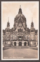 30...   (W-3000)    Hannover   -Neues Rathaus (Hauptportal)-   (PK-00207)