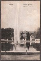 144..   (O-15..)   Potsdam   -Schloss Sanssouci u. grosse Fontaine-   (PK-00172)