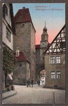 91541   (W-8808)   Rothenburg o.T.   -Röderbogen mit Markusturm-   (PK-00090)